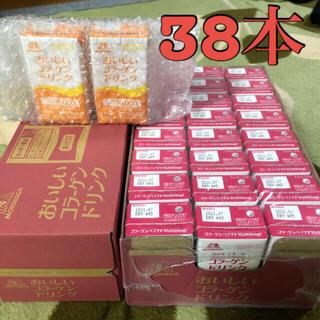 モリナガセイカ(森永製菓)の【新品未使用】おいしいコラーゲンドリンク ピーチ36本+レモン2本(コラーゲン)