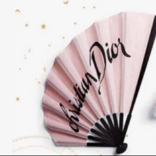 クリスチャンディオール(Christian Dior)の非売品 Dior 扇子(ノベルティグッズ)