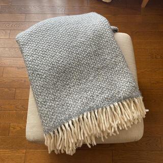 クリッパン(KLIPPAN)のクリッパン スローケット POLKA グレー(毛布)