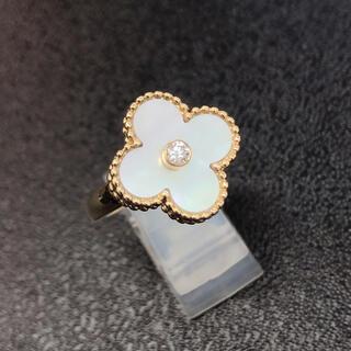 ヴァンクリーフアンドアーペル(Van Cleef & Arpels)の❣️美品❣️ヴァンクリーフ&アーペル vintage アルハンブラリング(リング(指輪))