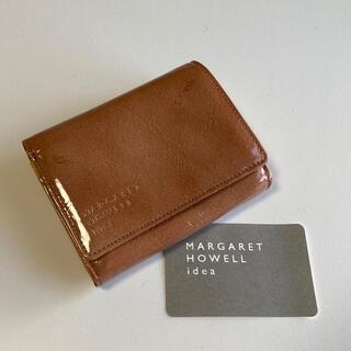マーガレットハウエル(MARGARET HOWELL)のマーガレットハウエル 折財布 アーモンド 未使用品 お買い得価格(財布)