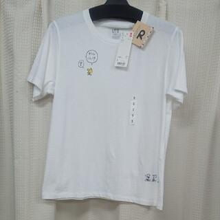 ユニクロ(UNIQLO)のユニクロレディースTシャツピーナッツSサイズ(Tシャツ(半袖/袖なし))