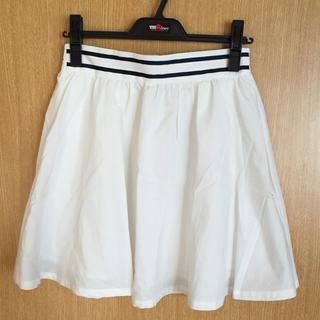 ワンアフターアナザーナイスクラップ(one after another NICE CLAUP)の NICE CLAUP 白スカート(ミニスカート)