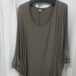 ユニクロ(UNIQLO)のユニクロレディースTシャツLサイズ(シャツ/ブラウス(長袖/七分))