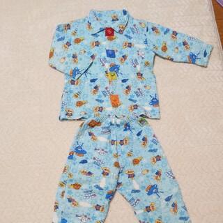 バンダイ(BANDAI)のアンパンマンお着替えが上手に出来るパジャマ110(パジャマ)