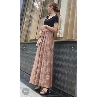 リゼクシー(RESEXXY)のフラワーロングスカート(ロングスカート)