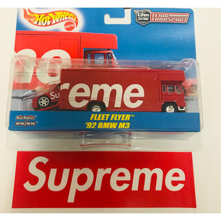 シュプリーム(Supreme)のSupreme Hot Wheels Fleet Flyer + 1992BMW(ミニカー)
