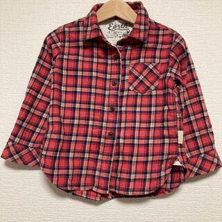 ネルシャツ 100(ブラウス)