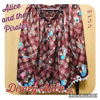 アリスアンドザパイレーツ(ALICE and the PIRATES)の【Alice and the Pirates】Disney Alice柄スカート(ひざ丈スカート)