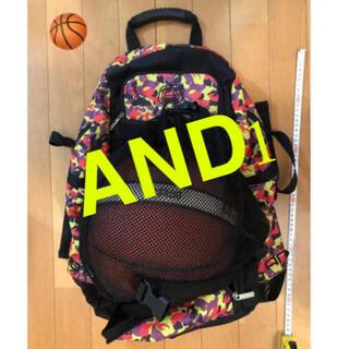 アンドワン(And1)の◉AND1 バスケットボールリュックバック(バスケットボール)