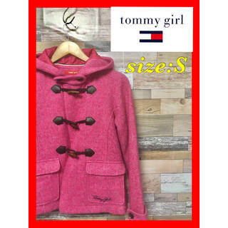 トミーガール(tommy girl)のtommy girl(トミーガール) かわいいピンクのダッフルコート(ダッフルコート)