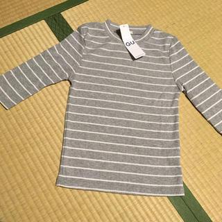 ジーユー(GU)のGU 七分丈 リブニット(Tシャツ(長袖/七分))