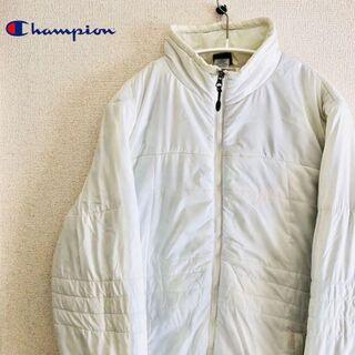 チャンピオン(Champion)の《訳あり》チャンピオン 中綿コート ジャケット レディース 古着(ナイロンジャケット)