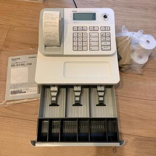カシオ(CASIO)のCASIO 電子レジスター SE-G1/NL-100(店舗用品)