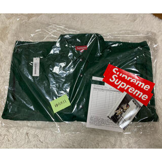 シュプリーム(Supreme)のANTIHERO Snap Front Twill Jacket Green(ブルゾン)