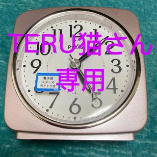セイコー(SEIKO)のSEIKO 目覚まし時計 美品♪(置時計)