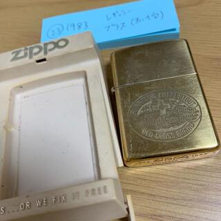ジッポー(ZIPPO)の23 RED CROSS BRAND zippo 1983(タバコグッズ)
