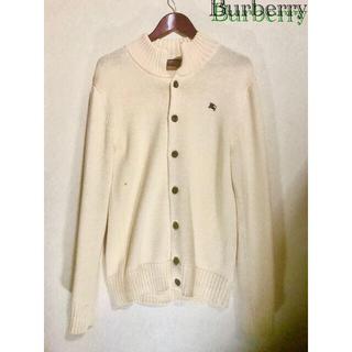 バーバリー(BURBERRY)のBurberry  ニットカーディガン Black label (カーディガン)