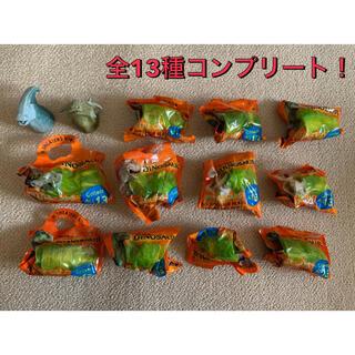 サントリー(サントリー)のレア☆ ダイナソー ペプシ ボトルキャップ ☆コンプリート全13種 ペプシ 恐竜(キャラクターグッズ)