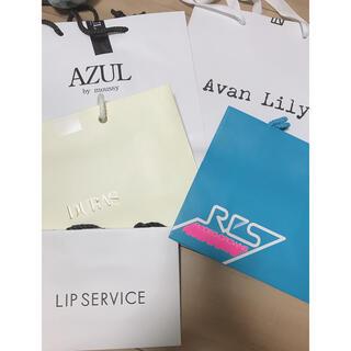 デュラス(DURAS)のAZUL DURAS LIP SERVICE RODEOCROWNS ショッパー(ショップ袋)