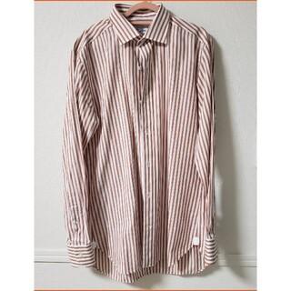 ユナイテッドアローズ(UNITED ARROWS)の極美品/UNITED ARROWSアローズ/ストライプドレスシャツビジネスシャツ(シャツ)