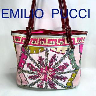 エミリオプッチ(EMILIO PUCCI)のエミリオプッチ キャンバス トートバッグ(トートバッグ)