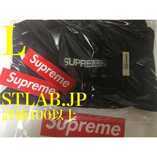 シュプリーム(Supreme)の黒 L 20SS Supreme Motion Logo パーカー(パーカー)