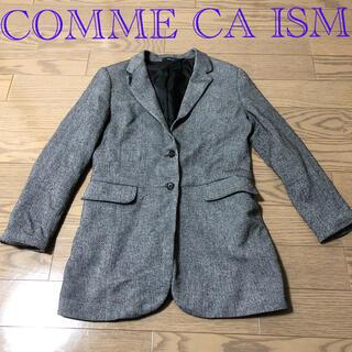 コムサイズム(COMME CA ISM)のコムサイズム グレー コート(チェスターコート)