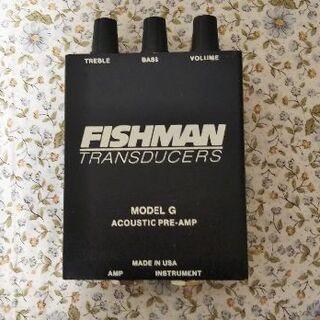 トランスデユーサー FISHMAN MODEL G(MTR)