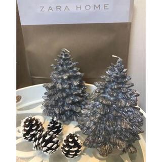 ザラホーム(ZARA HOME)の新品 2⃣点 ZARA HOME クリスマスツリー キャンドル ザラホーム(キャンドル)