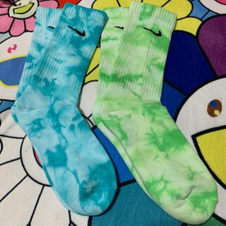 Tie Dye Socks Nike タイダイ染め 靴下 ソックスナイキ m(ソックス)
