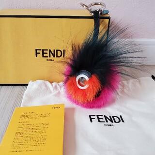 FENDI - フェンディ バッグ バグズ モンスターチャーム ファー キーホルダー 美品