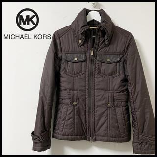 マイケルコース(Michael Kors)のMICHAEL KORS マイケルコース ダウンジャケット ブラウン(ダウンジャケット)