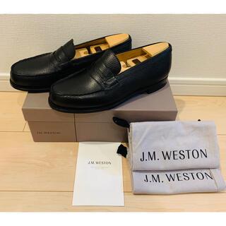 ジェーエムウエストン(J.M. WESTON)の値下げ中‼︎ J.M. WESTON 未使用品 ローファー 180  シボ革(ドレス/ビジネス)