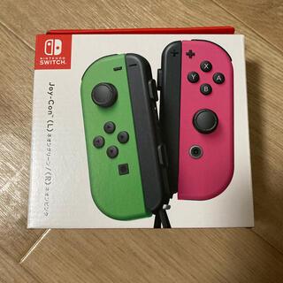 ニンテンドースイッチ(Nintendo Switch)の【新品未使用】Switch Joy-Con ネオングリーン/ネオンピンク(家庭用ゲーム機本体)