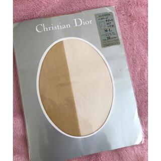 クリスチャンディオール(Christian Dior)のChristian Dior ストッキング 新品(タイツ/ストッキング)