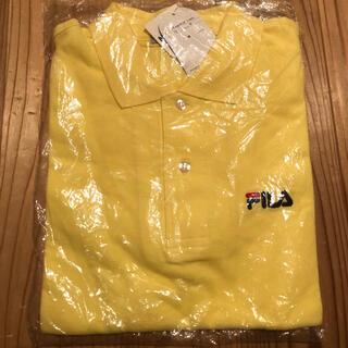 フィラ(FILA)のフィラ FILA 半袖ポロシャツ イエロー 新品未使用 タグ付き 綿100%(ポロシャツ)