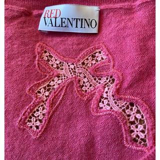 レッドヴァレンティノ(RED VALENTINO)のレッドヴァレンティノ  薄手カシミヤセーター(ニット/セーター)