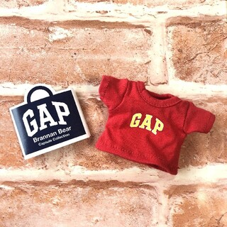 ギャップ(GAP)の店舗限定☆GAPガチャ カプセル GAPTシャツ(赤)(ぬいぐるみ)