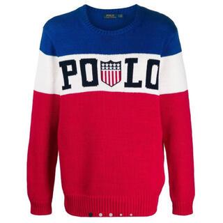 ポロラルフローレン(POLO RALPH LAUREN)のポロ ラルフローレン ニット セーター Lサイズ(ニット/セーター)