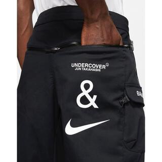 アンダーカバー(UNDERCOVER)のナイキ×アンダーカバー  カーゴパンツ BLACK Lサイズ(ワークパンツ/カーゴパンツ)
