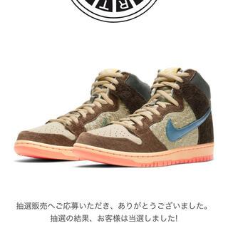 ナイキ(NIKE)のNIKE SB DUNK HIGH PRO QS 『CONCEPTS』 26.5(スニーカー)