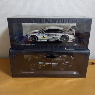 ビーエムダブリュー(BMW)のBMW特注 1/18 M3 DTM 2012 & M4 DTM 2015 2台(ミニカー)
