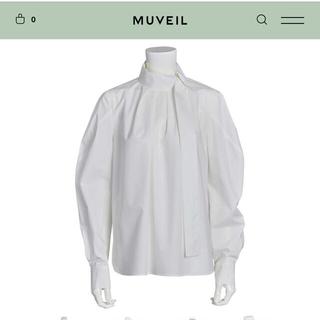 ミュベールワーク(MUVEIL WORK)のミュベール  ボウタイシャツブラウス(シャツ/ブラウス(長袖/七分))