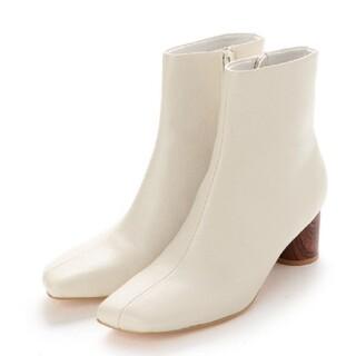 イーボル(EVOL)のEVOL センターシーム スクエアブーツ ホワイト(ブーツ)