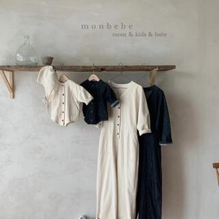 monbebe denim ロンパース 韓国子供服(その他)