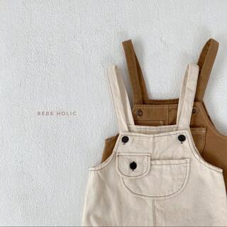 bebe holic ポケットサロペット 韓国子供服(パンツ)