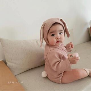 bebe holic うさぎロンパース 韓国子供服(ロンパース)