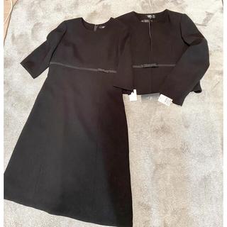 シマムラ(しまむら)のブラックフォーマル  アンサンブル 礼服 喪服 13号 タグ付き新品(礼服/喪服)
