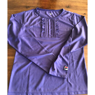 フィラ(FILA)のフィラ  テニス 長袖Tシャツ 紫(ウェア)